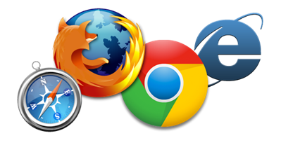 Four -browser -icons