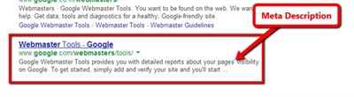Meta -Description -SERP-Example -Google -Webmaster -Tools